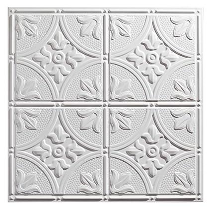 Cute 16 By 16 Ceramic Tile Huge 1X1 Ceramic Tile Rectangular 2 X 6 Subway Tile 24 X 24 Ceiling Tiles Old 24X24 Tin Ceiling Tiles Dark2X4 Ceiling Tiles Cheap Amazon.com: Genesis   Antique White 2x2 Ceiling Tiles 3 Mm Thick ..