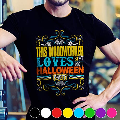 Woodworking This Woodworker Loves 31st Oct Halloween Party T Shirt Long Sleeve Sweatshirt Hoodie Youth]()
