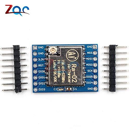 SX1278 LoRa Module 433M 433MHz 10KM Ra-02 Ai-Thinker Wireless Spread  Spectrum Transmission Socket for Smart Home DIY