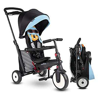 smarTrike STR5 Folding Toddler Tricycle for 1, 2, 3 Year Old - 7 in 1 Multi-Stage Trike, Squirrel : Sports & Outdoors