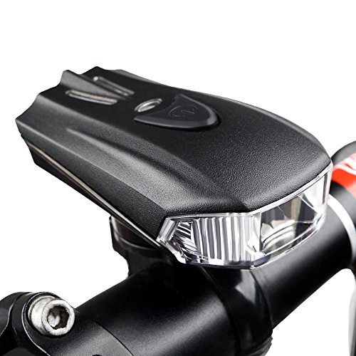Super Bright USB Chargeable Bike Headlight,GO PAL POWERFUL Hurley-380 USB Chargeable Bicycle LED Light,Compatible with Mountain, Road ,Kids & City Bicycles -  Go Pal S3