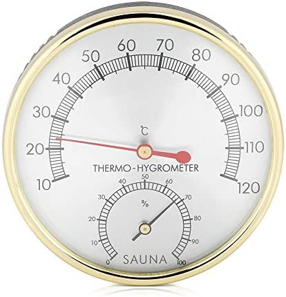Digital Hygrometer Indoor Thermometer Humidity Gauge Room Thermometer Accurate Temperature Humidity Monitor Meter for Sauna Room Home Office Greenhouse
