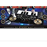 FAO Schwarz Giant Electronic DJ Mixer Mat with Piano Keyboard & Turntable Scratch Pads