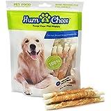 Hum & Cheer Hm000076Ck-250 Premium Dog Treats Chews Chicken Breast Wrapped Rawhide Stix For Training, 8.82 Oz/One Size/250G