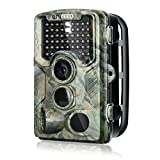 Enkeeo PH760 Trail Game Camera 1080P 16MP HD Hunting Camera 47pcs 850nm IR Night Vision IP56 Water Resistant with 0.2s Trigger Time 2.4″ LCD Screen