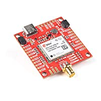 SparkFun GPS-RTK-SMA Breakout-ZED-F9P (Qwiic)-Concurrent reception of GPS GLONASS Galileo BeiDou High precision GPS 10mm 3 dimensional accuracy Receives L1C/A & L2C bands Voltage:5V or 3.3V Logic:3.3V