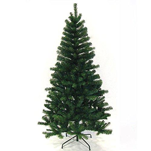 Hengda® 150 cm Künstlicher Weihnachtsbaum Christbaum Grün Tannenbaum künstliche Tanne mit Ständer 150CM Hoch ca. 350 Zweige
