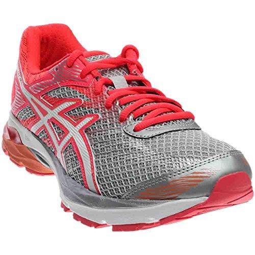 ASICS Women's Gel-Flux 4 Running Shoe, Mid Grey/White/Diva Pink, 9 M US