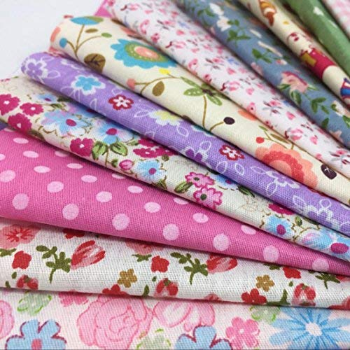 levylisa 100 Pieces 6'' x 6''100% Printed Cotton Quilting Fabric Patchwork Precut Fabric Quilt Squares DIY Sewing Quarter Bundle Fabric for DIY Craft Embellishment Sewing Scrapbooking Quilting