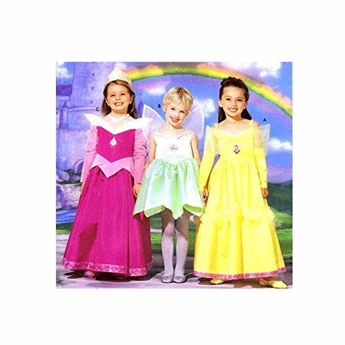 Make Tinkerbell Costumes (Simplicity Sewing Pattern 5835 Disney Princess Costumes Size)