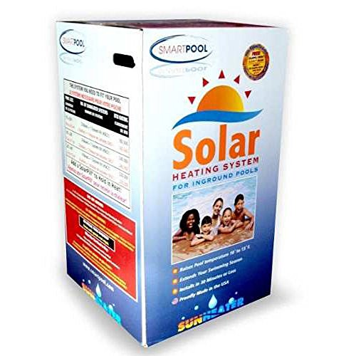 Swimming Pool Solar Heating Panels - SmartPool S601P SunHeater Solar Heating System for In Ground Pool