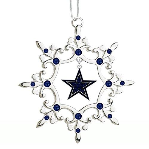 Final Touch Gifts Dallas Cowboys Rhinestone Christmas Ornament ()