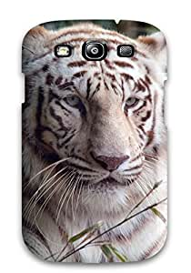 For Galaxy S3 Protector Case White Bengal Tiger Phone Cover