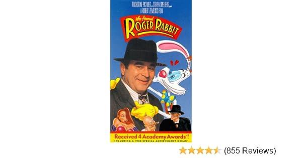 Amazon.com: Who Framed Roger Rabbit [VHS]: Bob Hoskins, Christopher ...