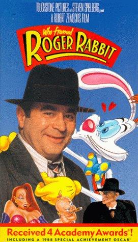 amazoncom who framed roger rabbit vhs bob hoskins christopher lloyd joanna cassidy charles fleischer stubby kaye alan tilvern