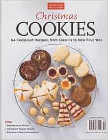 america 39 s test kitchen christmas cookies magazine 2013