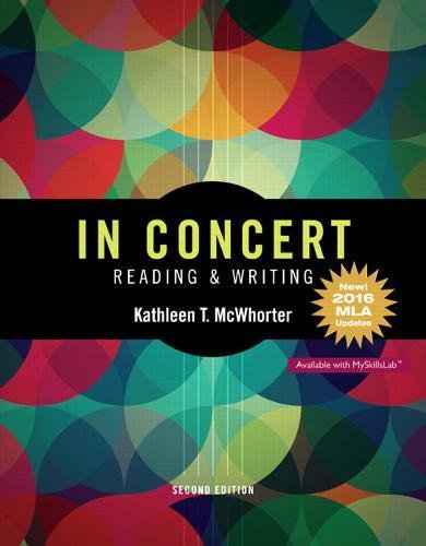 In Concert: An Integrated Approach to Reading and Writing, MLA Update (2nd Edition)
