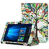 MoKo ASUS Transformer Book T101HA Case, Slim Folding Stand Cover Case with Built-in