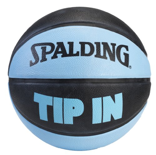Spalding Tip In Outdoor Rubber Basketball - Black/Blue - Size 7