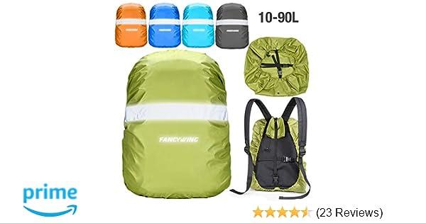 24e91594e0 Amazon.com   FANCYWING Waterproof Backpack Rain Cover with ...