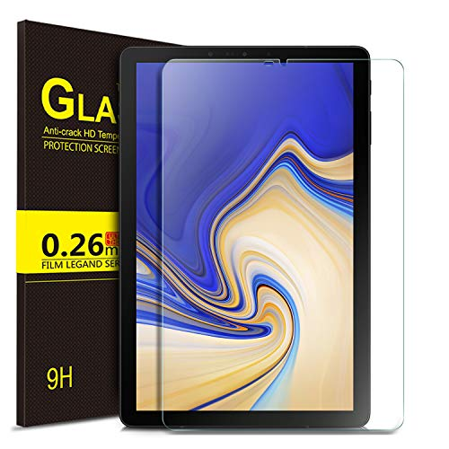 IVSO Screen Protector for Samsung Galaxy Tab S4 10.5 Tablet,Tempered-Glass [Scratch-Resistant] [No-Bubble] for Samsung Galaxy Tab S4 SM-T830 Wi-Fi & SM-T835 4G LTE 10.5-inch 2018 Release (1 Park)