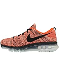 Nike WMNS Flyknit Air Max 620659-008 Black/Hyper Orange/Sunset Glow Womens Shoes