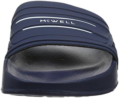 McWell Men Flip-Flops blue - Navy/White 4M3fLcr