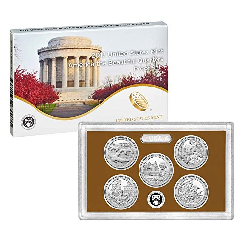 2017 S America the Beautiful Quarters Proof Set (17AP) (America Coin)