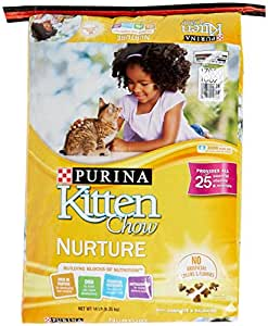Purina kitten chow nurturing formula dry cat for Purina game fish chow
