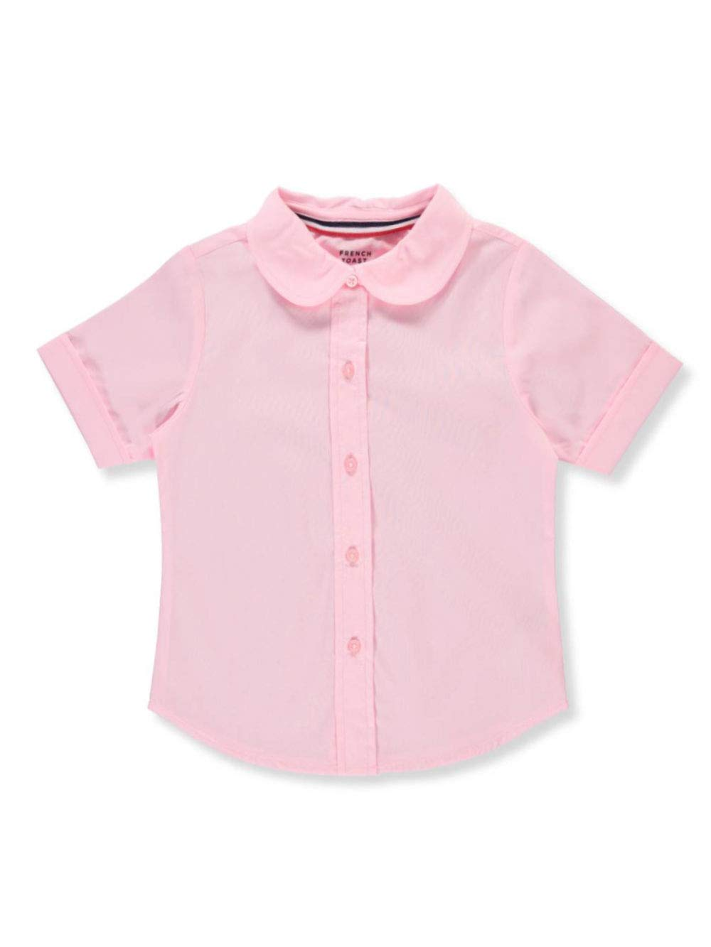 French Toast Little Girls' S/S Peter Pan Fitted Shirt