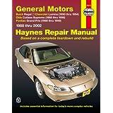 General Motors Fwd Models Buick Regal 88 04 Chevrolet Lumina 1990 1994 Old Haynes 9781563927263 Amazon Com Books