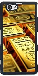 Funda para Sony Xperia Z1 Compact - Barras De Oro by Carsten Reisinger