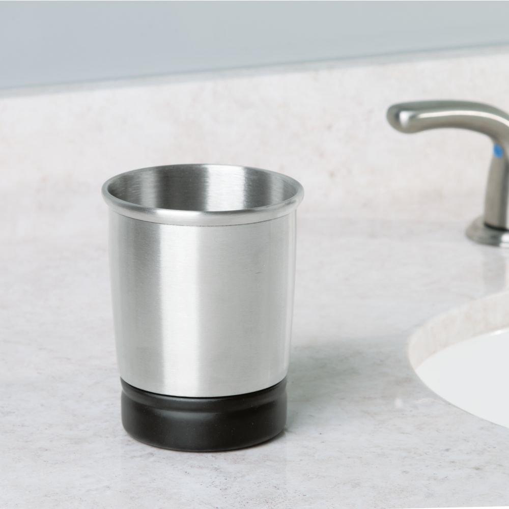 InterDesign Dispenser Toothbrush Bathroom Countertops Image 3