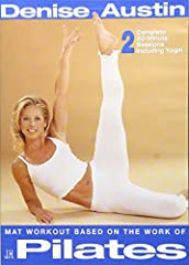 Denise Austin demonstrates and instructs the latest trend in fitness today--yoga! Includes two 20-minute sessions that will teach strength, balance, flexibility, proper breathing in order to increase focus.
