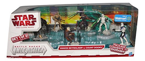 Star Wars Battle pack unleased (Set 1 of 2). Anakin Skywalker vs. Count Dooku ()