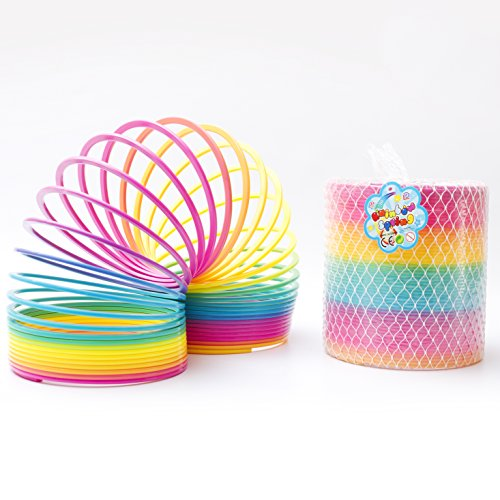 (Fun Central AU026 Jumbo Rainbow Magic Spring, 7 inch)