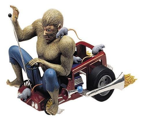 Wolfman's Wagon Model Kit
