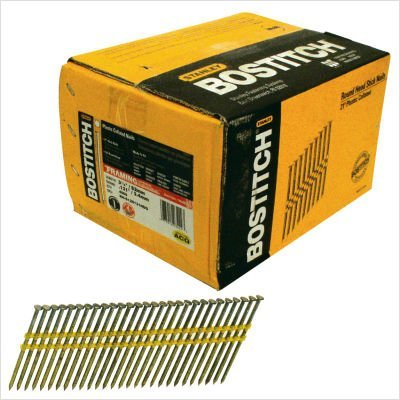 Stanley Bostitch RH-S12D131HDG 3-1/4-Inch Round Nail, 4000-Count