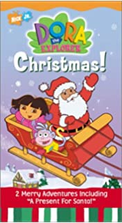 dora the explorer christmas vhs - Rugrats Christmas