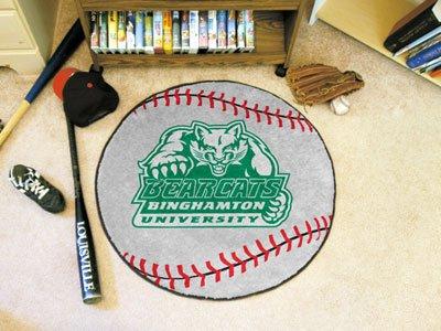 """Binghamton Bearcats Ncaa Baseball"""" Round Floor Mat (29"""")"""""""