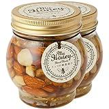 ハニーナッツ ナッツの蜂蜜漬け 200g 産地直送 (2瓶)