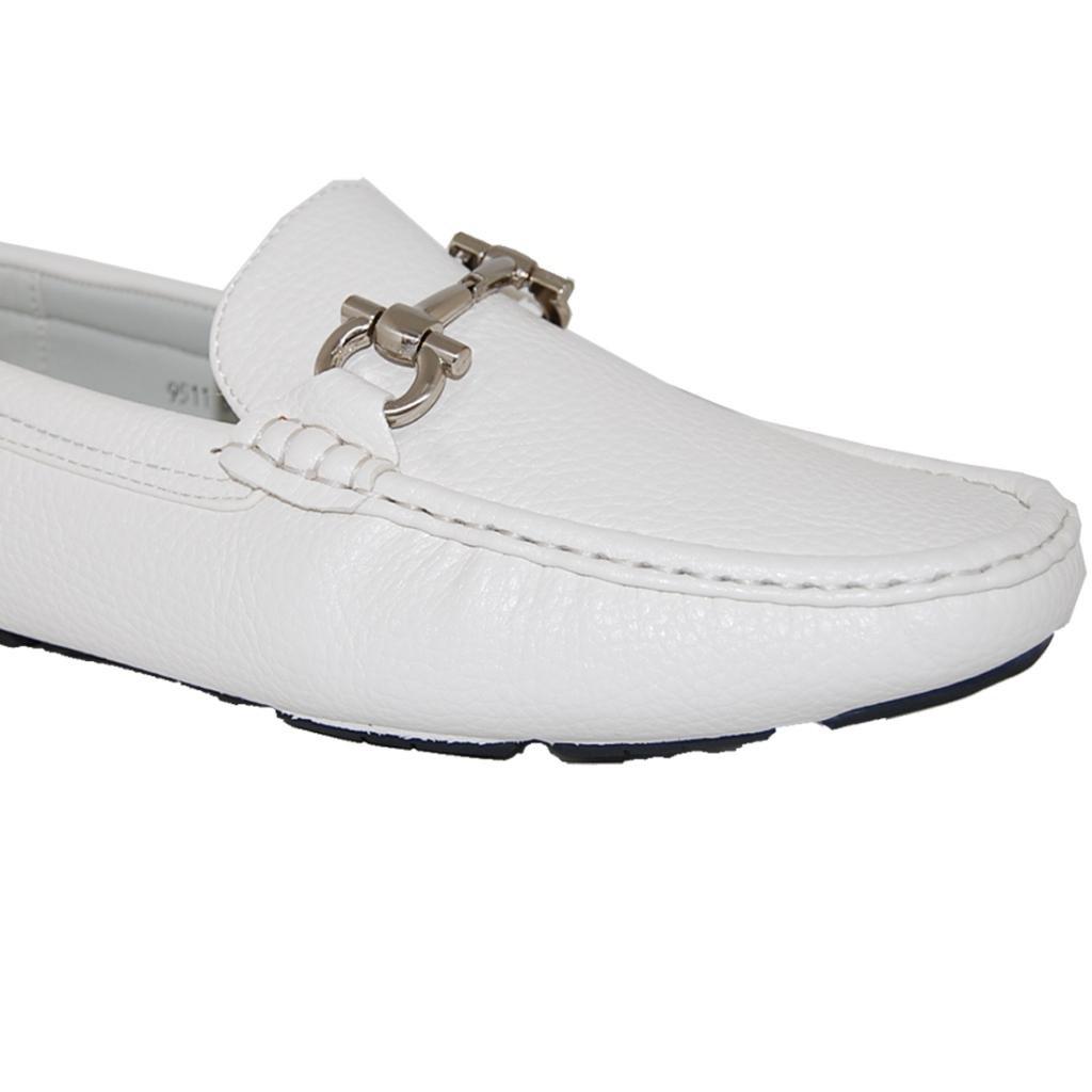 8D US Men SHOE ARTISTS White Party Slip On Mens Loafer