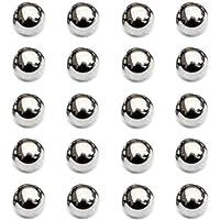 Nuluxi Bolas de Rodamiento Acero 15mm de Diametro Componentes de Rodamientos de Bolas de Acero Kit de Bolas de…