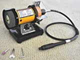 TruePower 199 Mini Multi Purpose Bench Grinder and Polisher with Flexible Shaft, Tool Rest and Safety Guard, 3-Inch Review