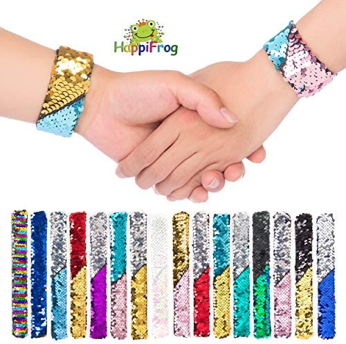 MERMAID Slap Band Slap Bands Snap Band Bracelet Wristband Girls Party Bag Filler