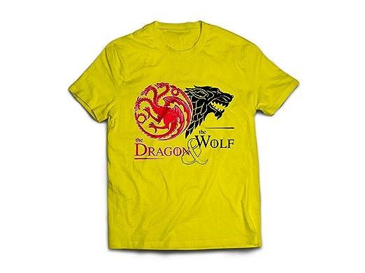JEMASHOP Camiseta Amarilla Inspirada EN Juego DE Tronos. Stark ...