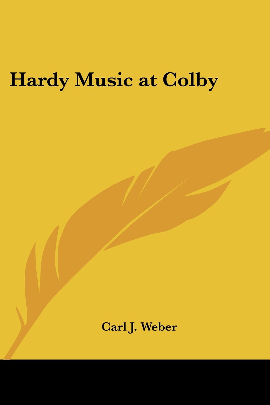 hardy music at colby