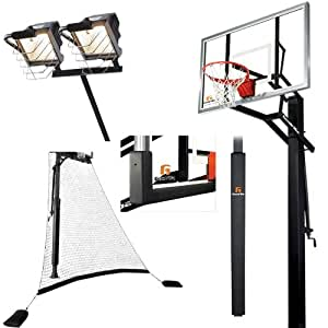 Amazon Com Goalrilla Glr Gsii 60 Quot Basketball System With