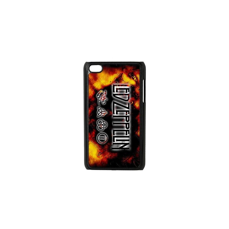 Custom Led Zeppelin Hard Back Cover Case for iPod Touch 4th IPT690