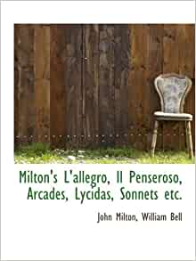 John Milton 's Poetry And Sonnets